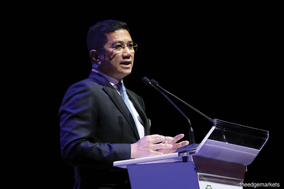 Malaysia's International Trade and Industry Minister Datuk Seri Mohamed Azmin Ali