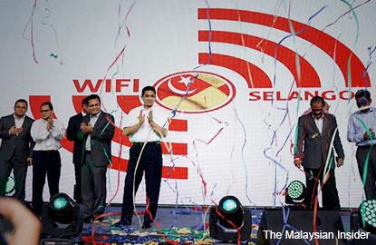 Selangor gets free Wifi