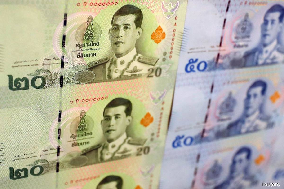 Thai baht touches three-week high on relief anti-govt protests pass off peacefully