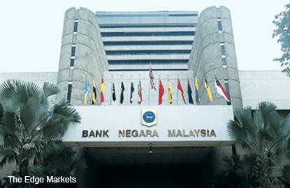Bank Negara's international reserves up 0.63% to US$95.3b