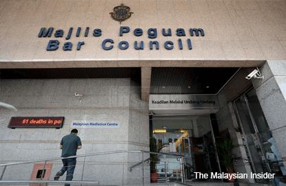 Bar Council seeks lawyers' nod to sue anyone blocking probe into 1MDB, RM2.6b donation