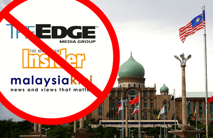 The Edge, TMI, Malaysiakini barred from covering Cabinet reshuffle