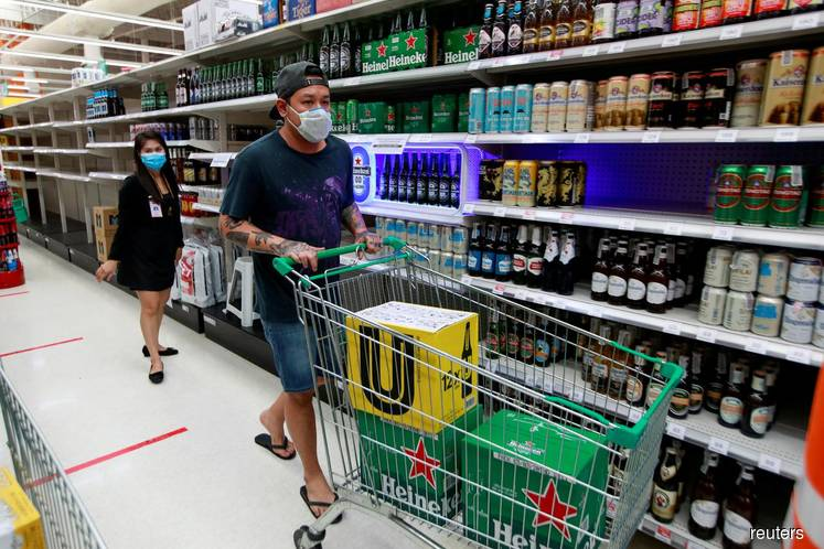 Booze bonanza for shops masks beer and spirits downturn