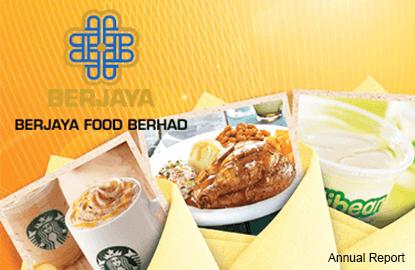 CIMB on Berjaya Food: 'Look ahead to a better FY17'