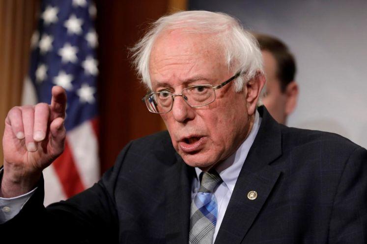 Sanders says Trump prepared to undermine democracy for power