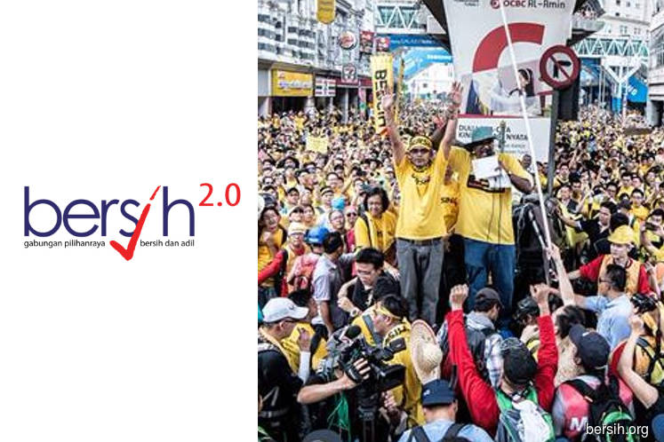 No politicians, please — Bersih