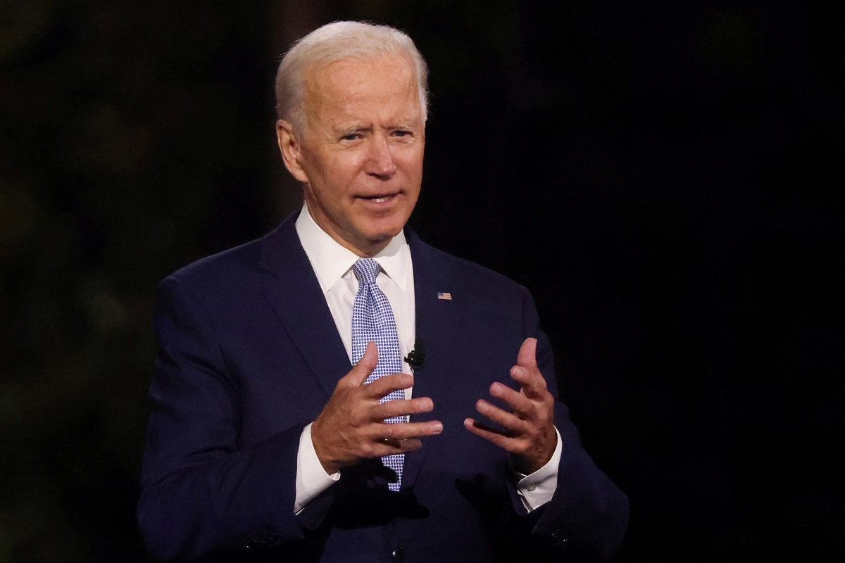 Biden rejects Trump claim that Covid-19 vaccine is imminent