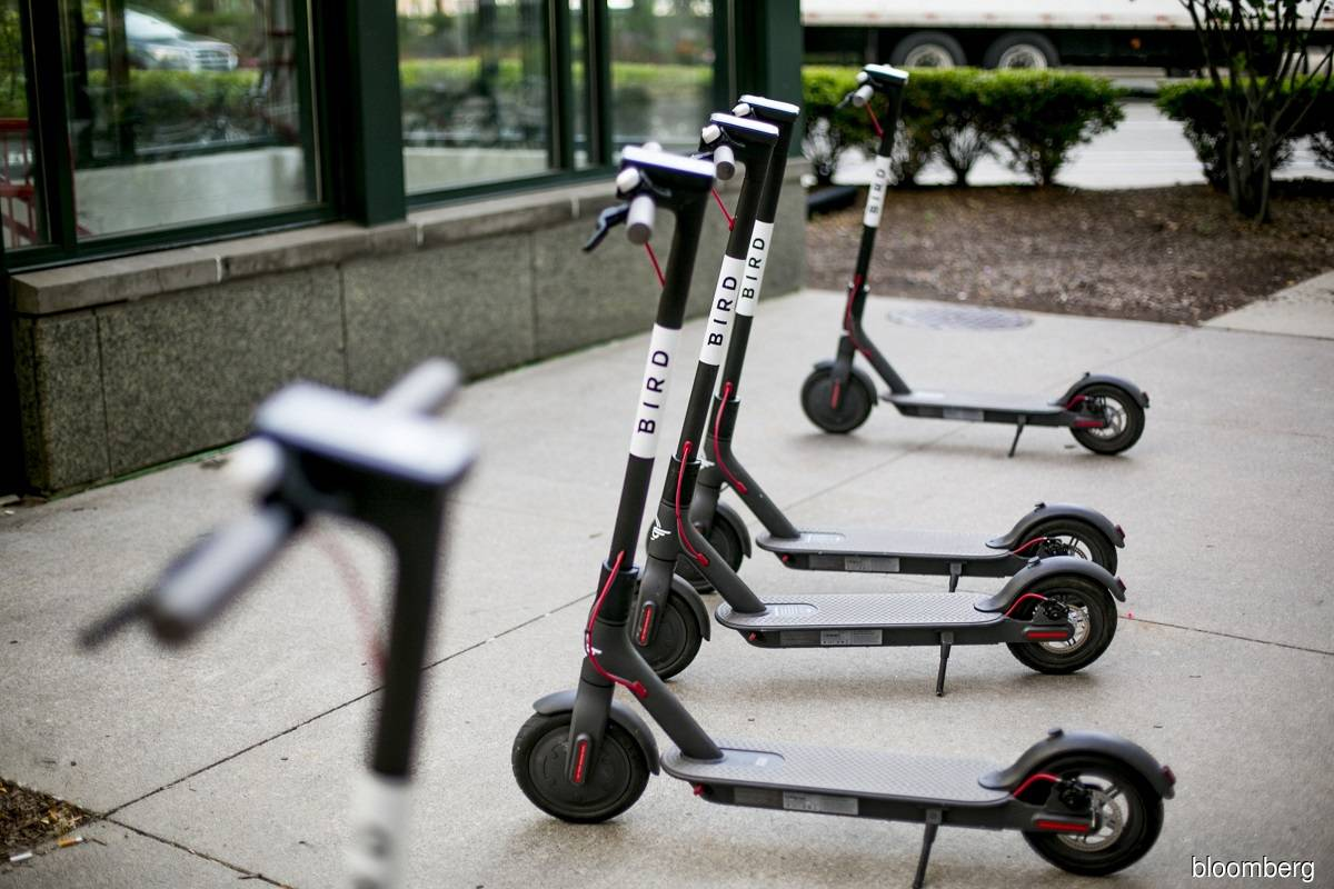 Electric scooter start-up Bird to go public in US$2.3 billion blank-cheque deal