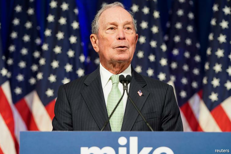 A rising Bloomberg qualifies for US Democratic debate