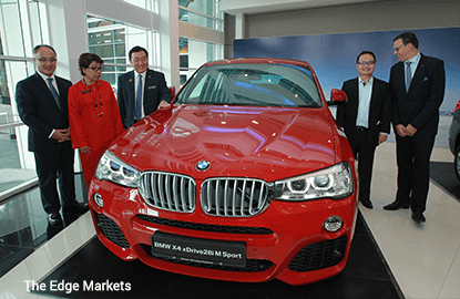 BMW to make M'sia its export hub for BMW 3, 5, 7 series to Vietnam, Philippines by 2018