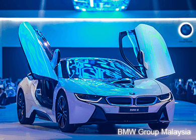 the bmw i8 launched in Malaysia today