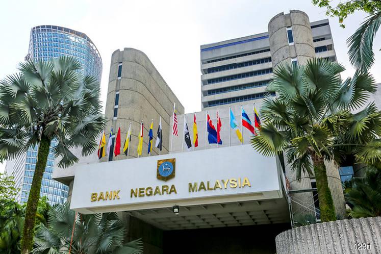 Bank Negara's int'l reserves rose 0.29% to US$102.9b as at May 29