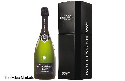 Wine: Bollinger's special vintage for Bond