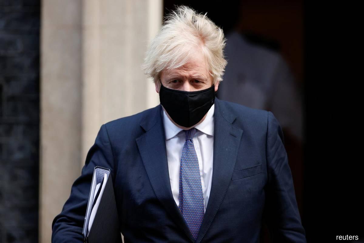 Boris Johnson's cross-London bike ride threatens his own U.K. lockdown
