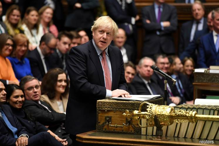 UK PM Johnson promises to wrap up parliament Brexit vote for Christmas