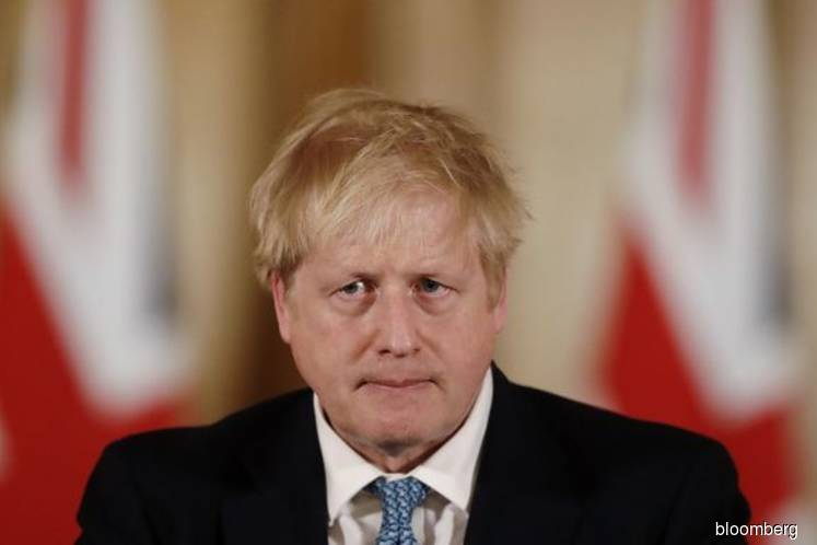 U.K.'s Johnson moved to intensive care as Covid-19 worsens