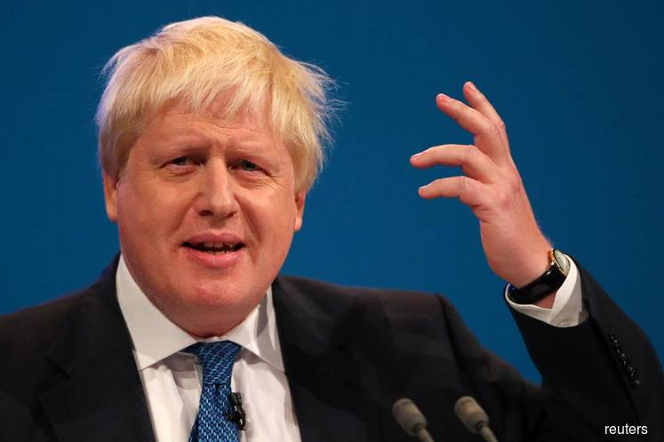 PM Johnson says tempers need to calm after Brexit furore
