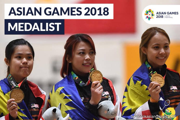 Asian Games: Malaysia ends gold medal drought on fourth day