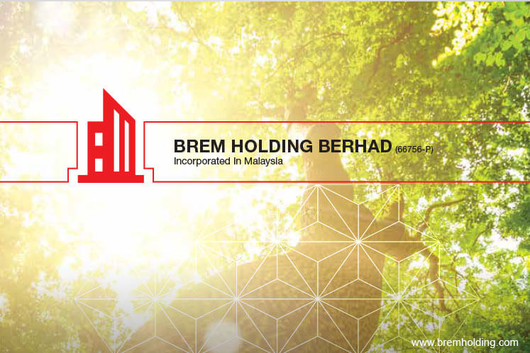 Brem in position to trade higher, says AllianceDBS Research