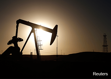 Oil prices rise as global market fears ease, but outlook remains weak