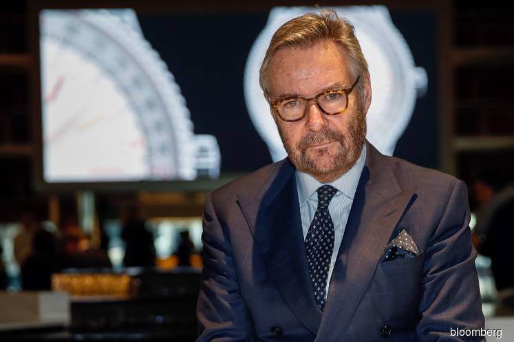 Brian Duffy at the 2019 Baselworld luxury watch and jewellery fair. (Photo by Bloomberg)