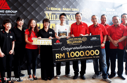 Brian Lim wins The Edge-Mah Sing Millionaire Contest