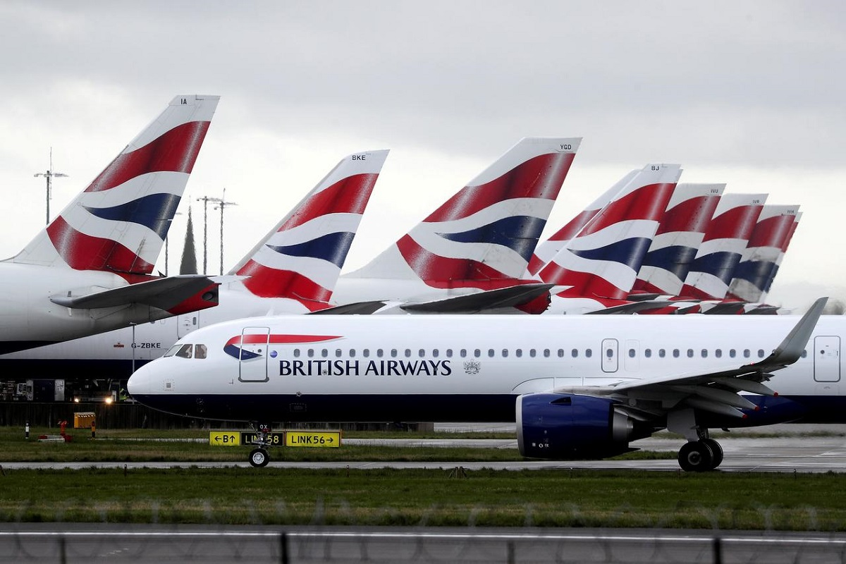 British Airways owner IAG says pensions deal, loan help boosts liquidity