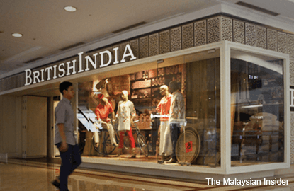 'Suria KLCC issued order to hoard up BritishIndia store'