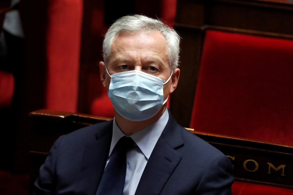 Le Maire: We won't ban Huawei from investing in 5G, we will protect our national security interests.
