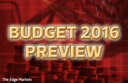 RHB Research: Budget 2016 to be 7.2% more
