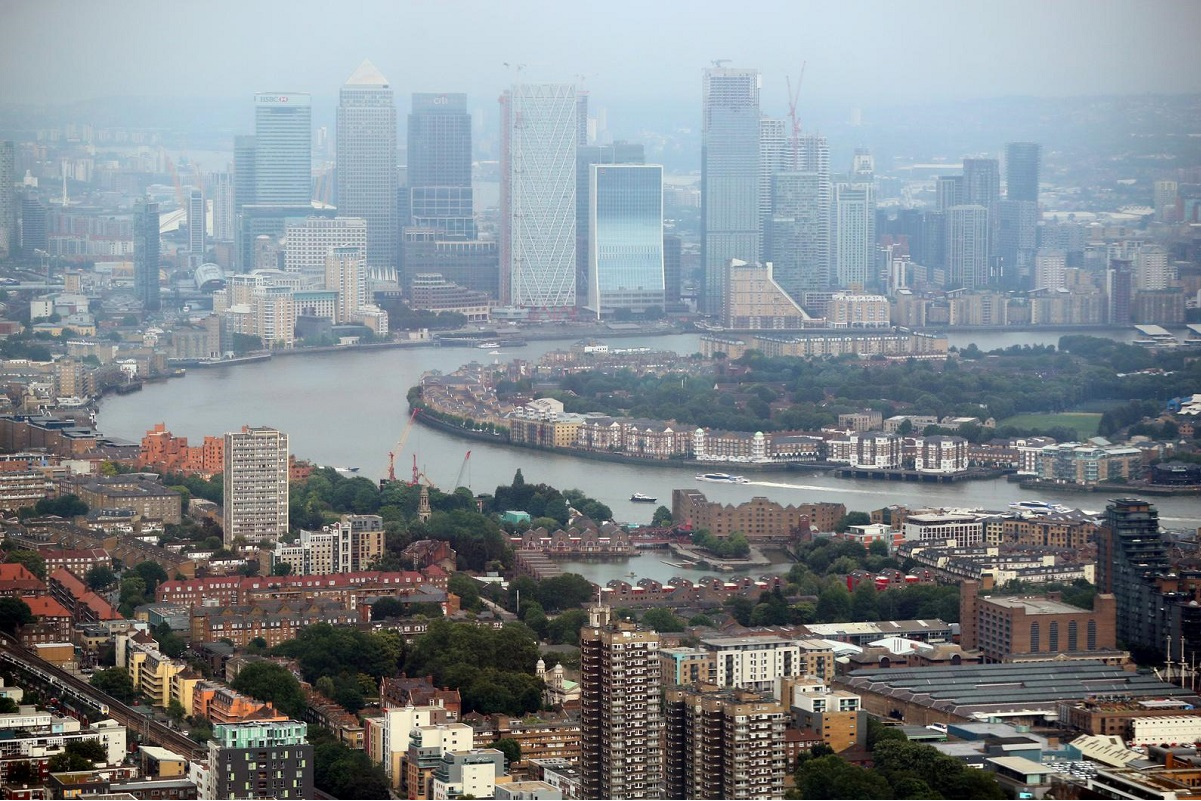 UK economic output collapses by record 20% in second quarter