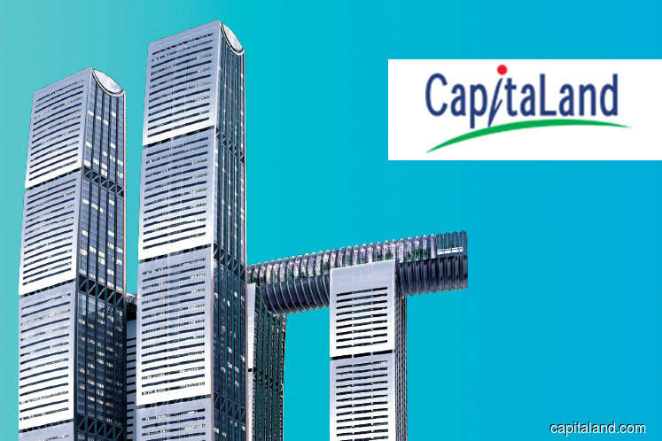 CapitaLand reports 4.2% lower 2Q earnings of S$580m on lower contributions from Singapore, China projects