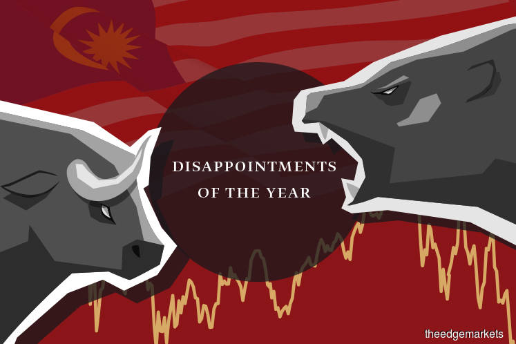 Disappointments Of The Year: A year full of disappointments on Bursa
