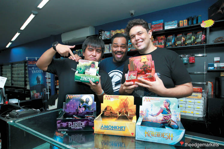 Cover Story: Big money in trading card games