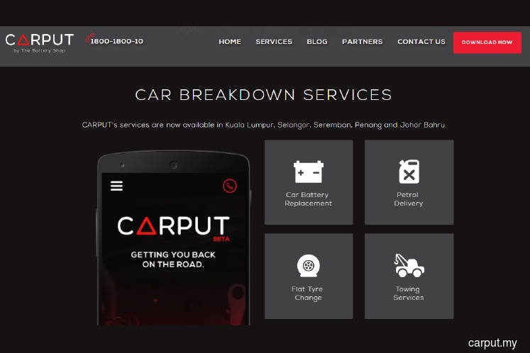 E-services: Car trouble? Don't panic!