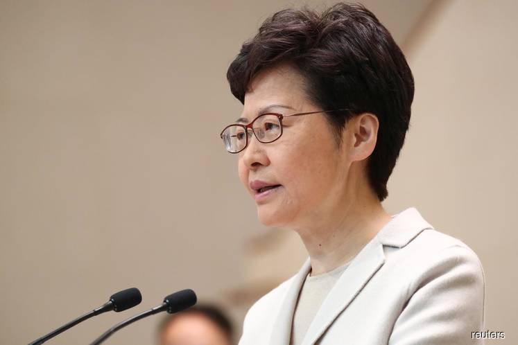 Hong Kong cabinet reshuffle not an 'immediate task', Lam says