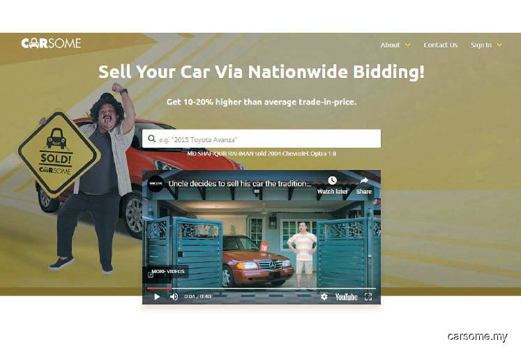 E-services: Making it easier to sell your car
