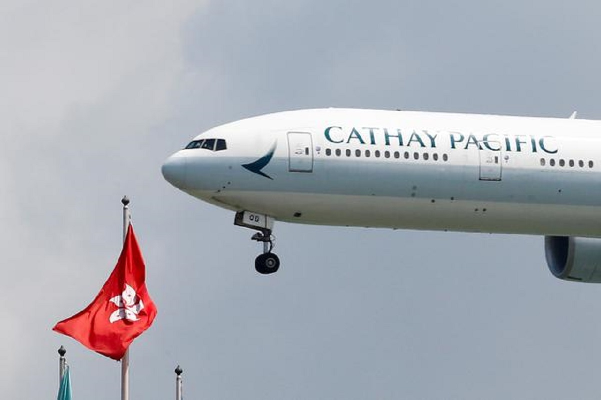 Cathay Pacific raises US$870m in convertible bonds to shore up liquidity, shares fall