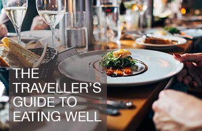 Traveller's guide to eating well
