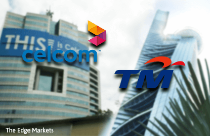 TM and P1 tie up with Celcom to leverage on one another's infrastructure