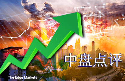 区域股市走高 马股扬升0.43%