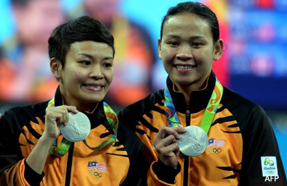 Malaysia wins first medal at Rio Olympics