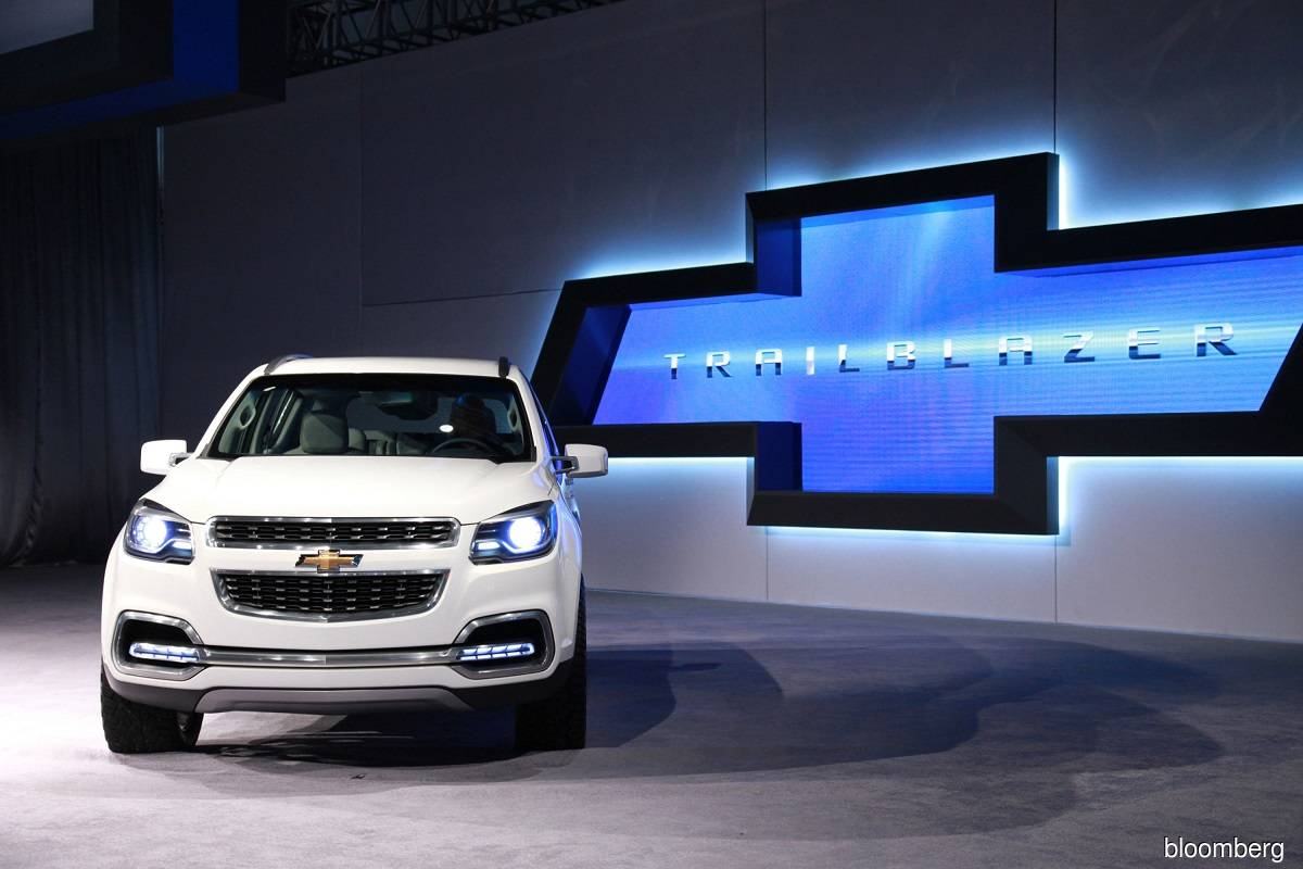 Chevrolet Trailblazer sport utility vehicle