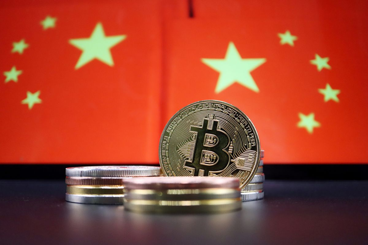 Crypto exchange giants stop taking China users as ban widens
