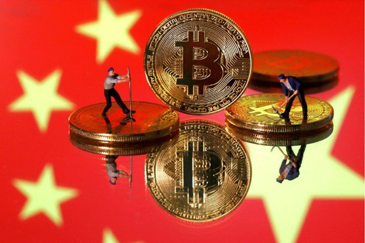 China's top regulators ban crypto trading and mining; Bitcoin stumbles
