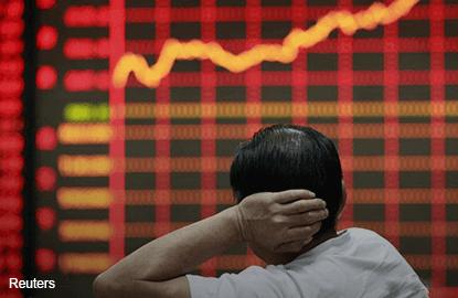 中国股市暴跌7% 触动断路机制