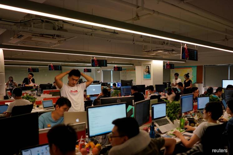 Rare overtime protest by China tech workers goes viral