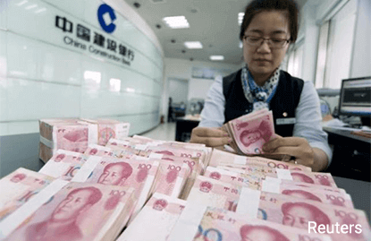 China c.bank to clamp down on forwards trading to curb yuan depreciation