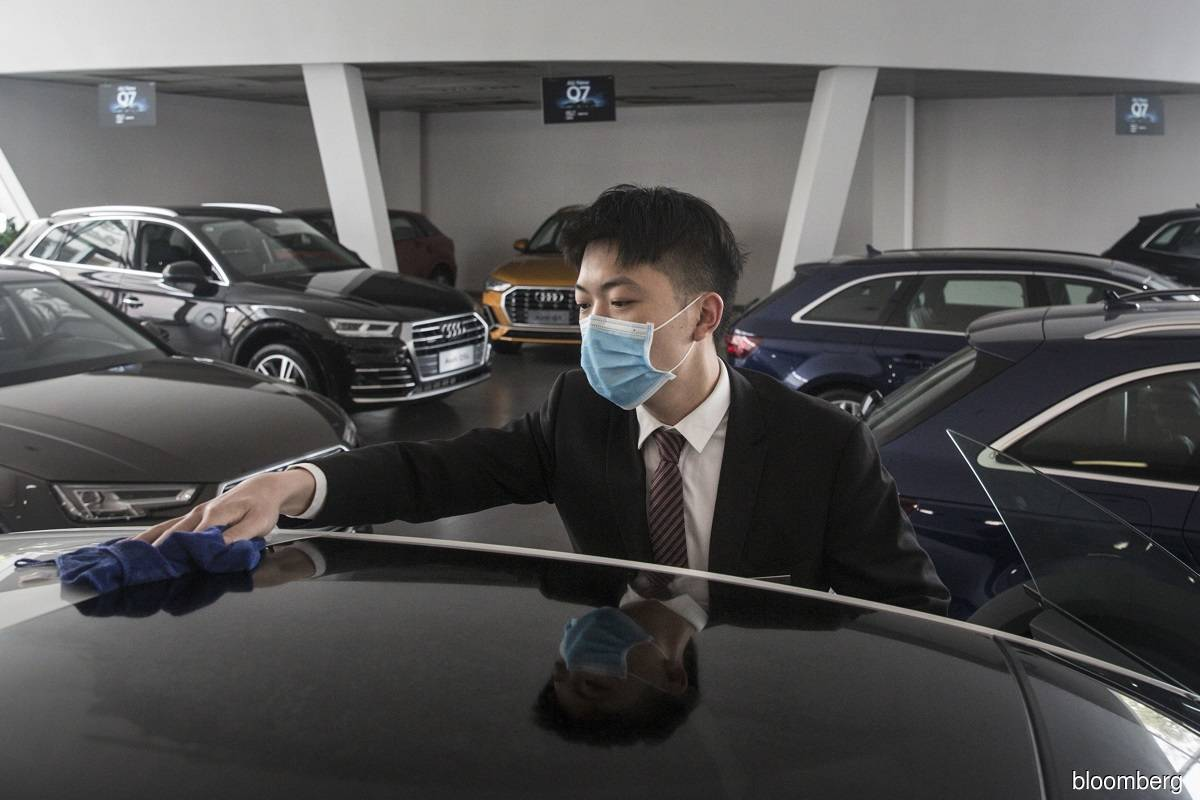 China car sales go from strength to strength as virus eases