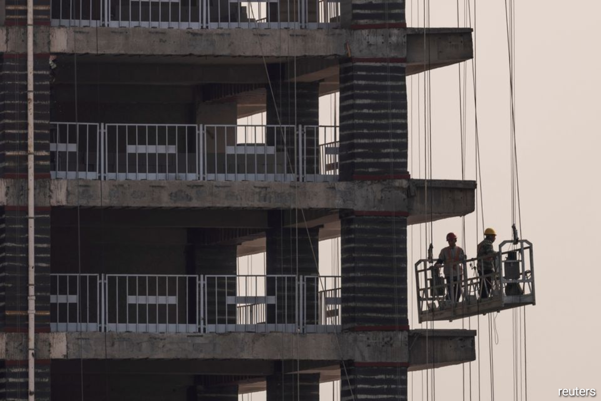 China's plunging construction starts reminiscent of 2015 downturn